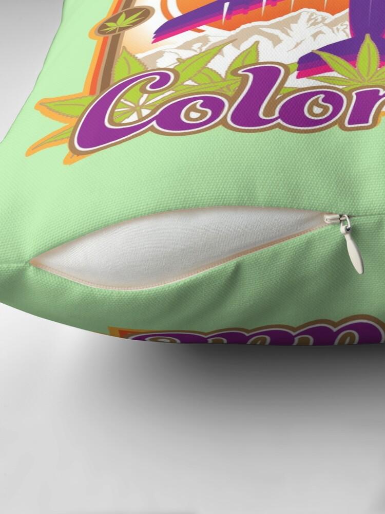 Alternate view of Fly High Colorado Throw Pillow