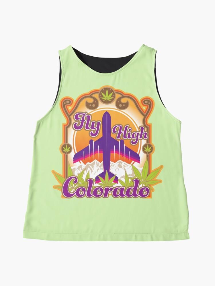 Alternate view of Fly High Colorado Sleeveless Top