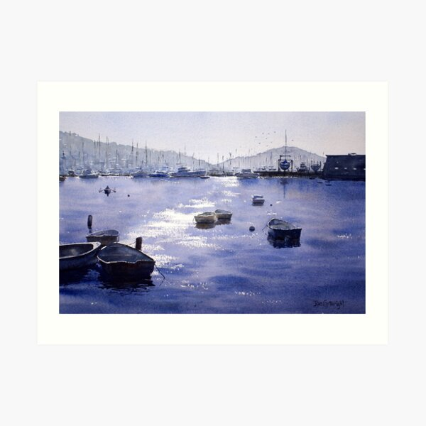 Early Morning, Pittwater, NSW Art Print