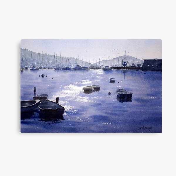 Early Morning, Pittwater, NSW Canvas Print