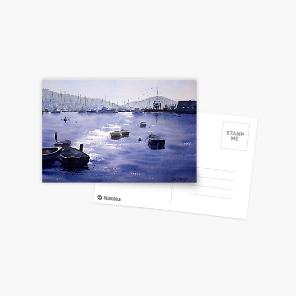 Early Morning, Pittwater, NSW Postcard
