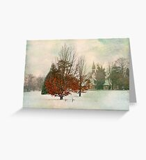 Solitude And Presence Greeting Card