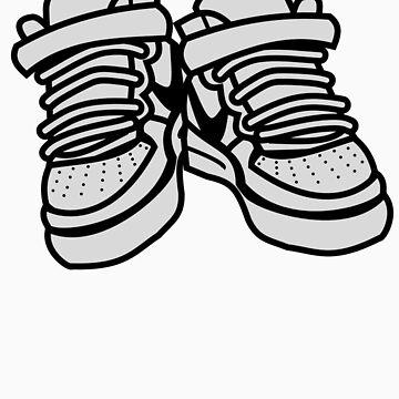 Nike Air Force Ones by BrokenRenegade
