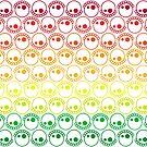 Bubblyskull Rainbow by jdecker