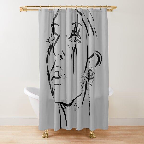 deathbyromy Shower Curtain