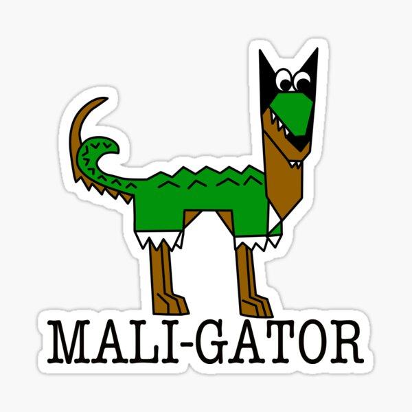Maligator Too Sticker