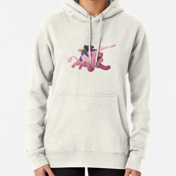 Connie and Lion Pullover Hoodie