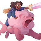 Connie and Lion by kodabomb