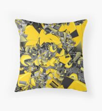 Bumblebee  transformer Throw Pillow