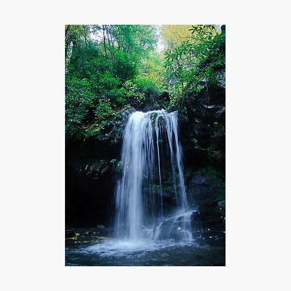 Grotto Falls Photographic Print