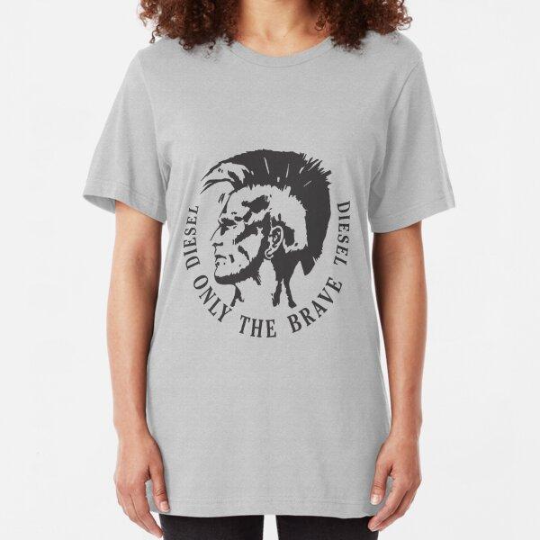 brave diesel Slim Fit T-Shirt