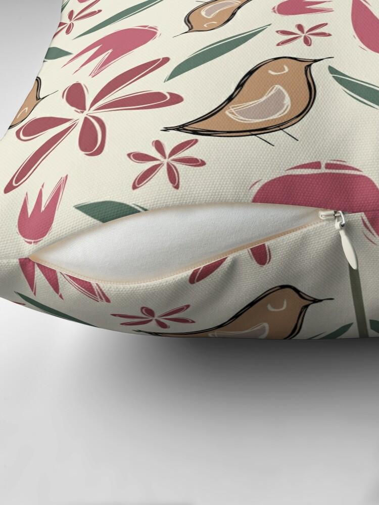 Alternate view of Garden Frolic Throw Pillow