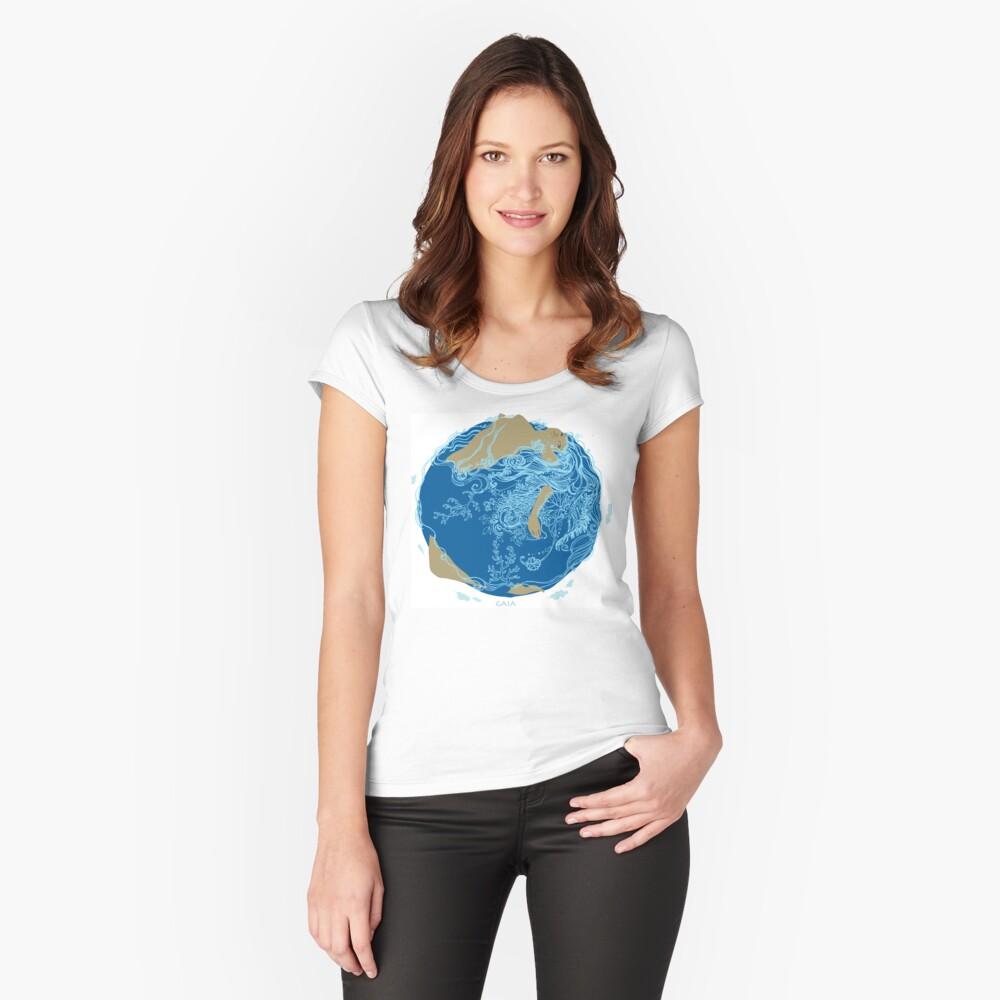 T-shirt échancré «Aimante»