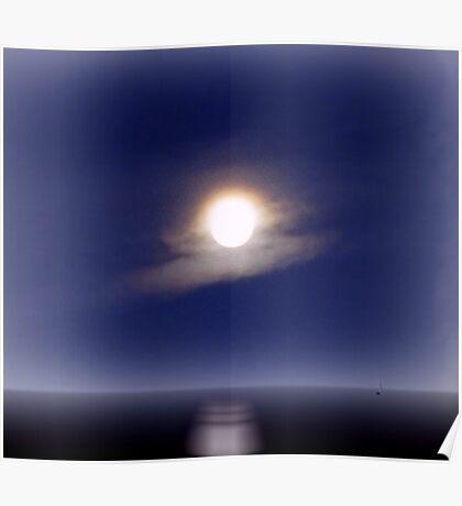 Moon Lake Poster