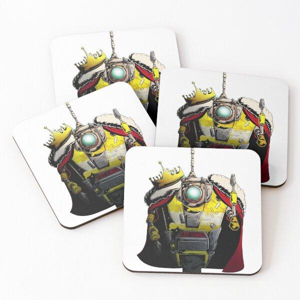 King CL4P-TP (Claptrap) Colour Coasters (Set of 4)