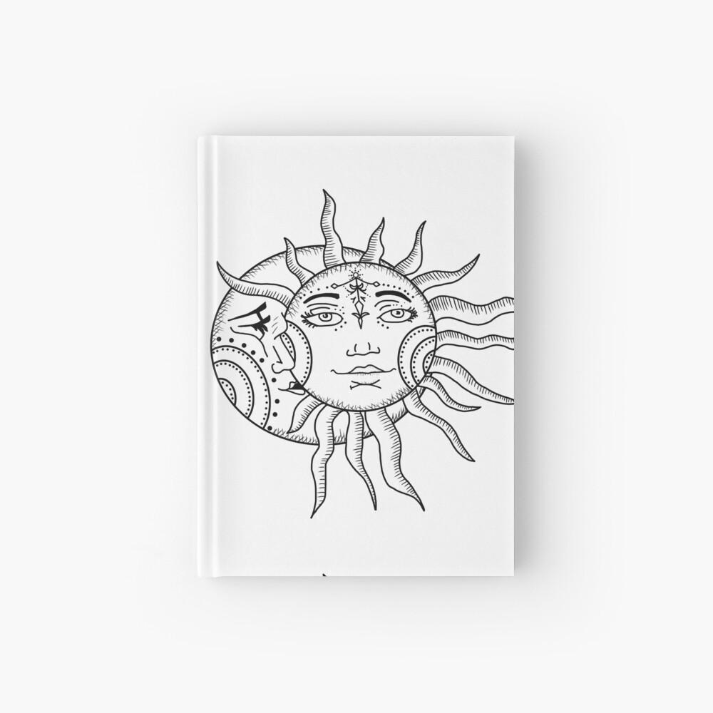 Sonne und Mond Notizbuch