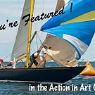 Action in Art feature banner by wolftinz