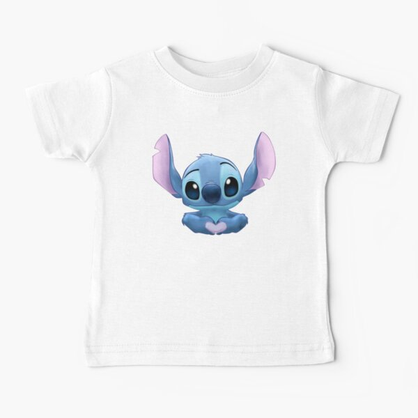 Stitch Heart T-shirt bébé