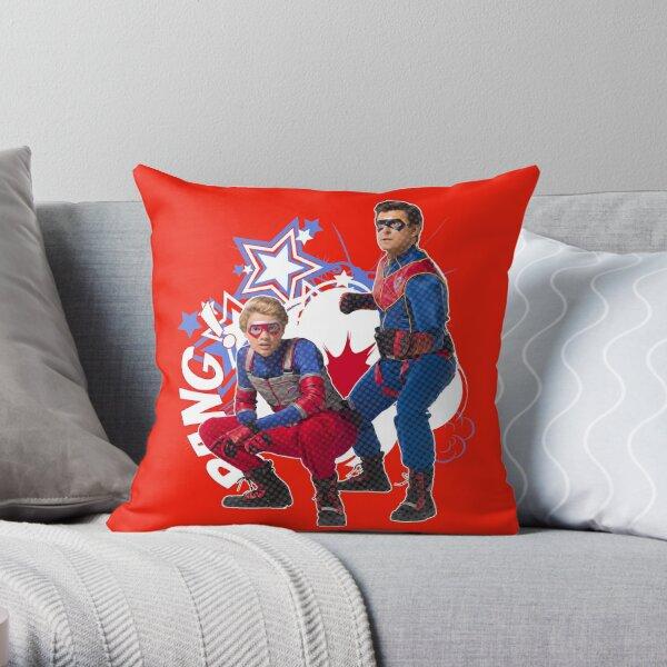 Captain Man and Kid Danger - Estilo cómic Cojín
