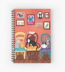 Heidi's Cats Spiral Notebook