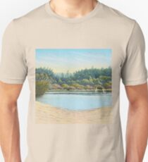 Sailing Boats, Frensham Ponds, Surrey T-Shirt