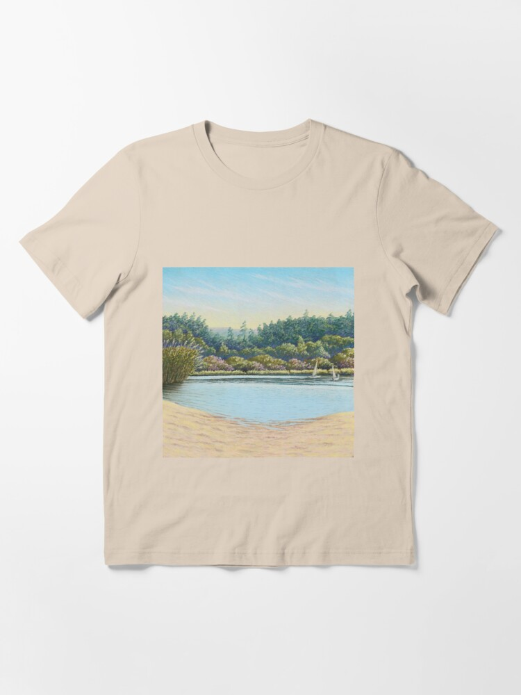 Alternate view of Sailing Boats, Frensham Ponds, Surrey Essential T-Shirt
