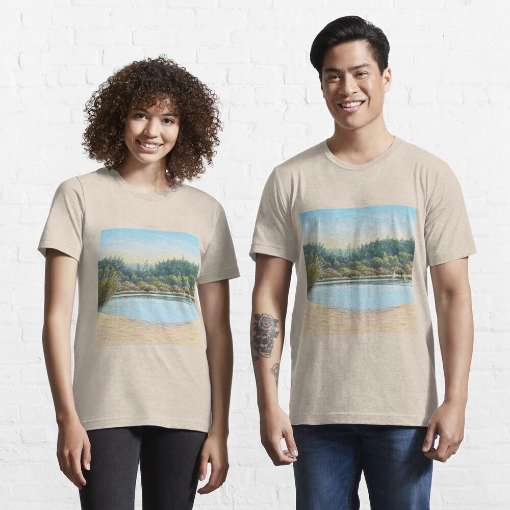 Sailing Boats, Frensham Ponds, Surrey Essential T-Shirt