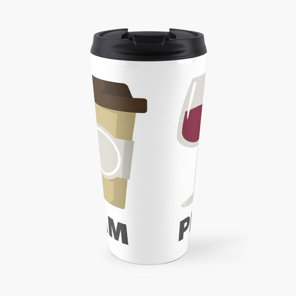 Coffee and Wine Time Travel Mug