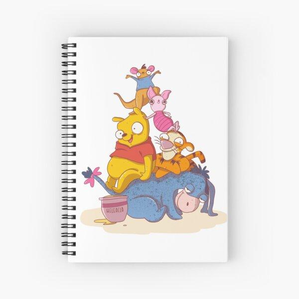 Amigos para siempre Cuaderno de espiral