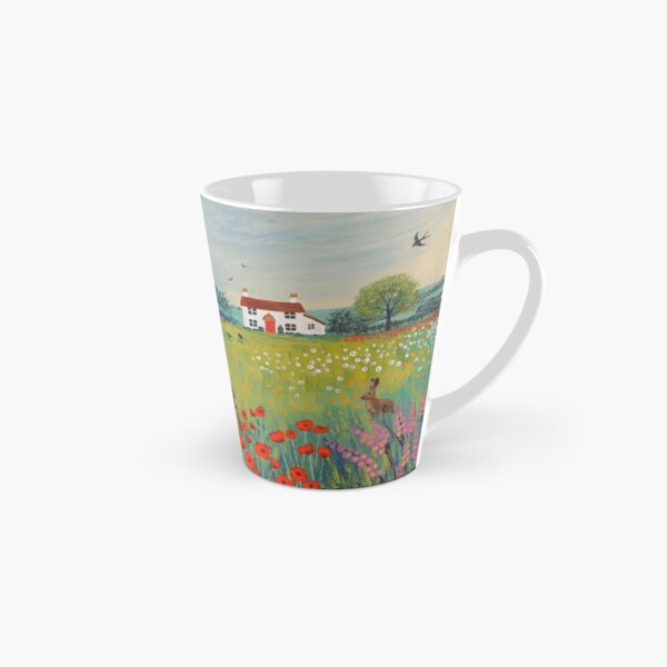 The House by Summer Meadow Tall Mug