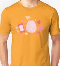 Girl's Brain Pattern T-Shirt
