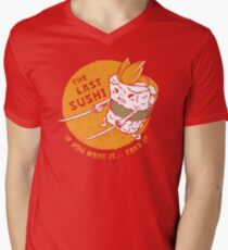 The Last Sushi Men's V-Neck T-Shirt