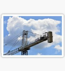 Crane counterweight Sticker