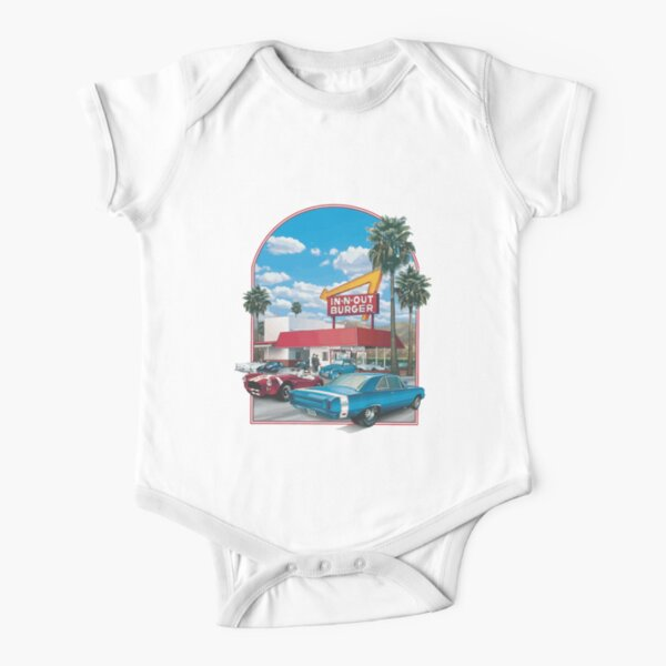in n out burger Short Sleeve Baby One-Piece