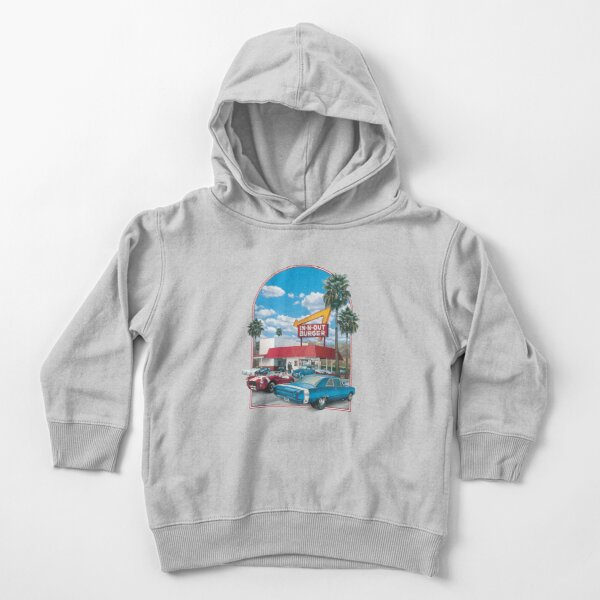in n out burger Toddler Pullover Hoodie
