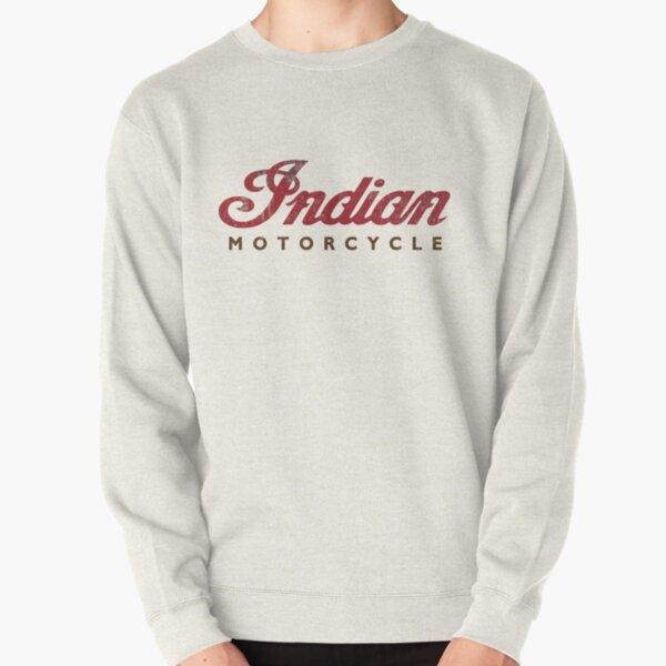 Vintage Indian Motorcycle Pullover Sweatshirt