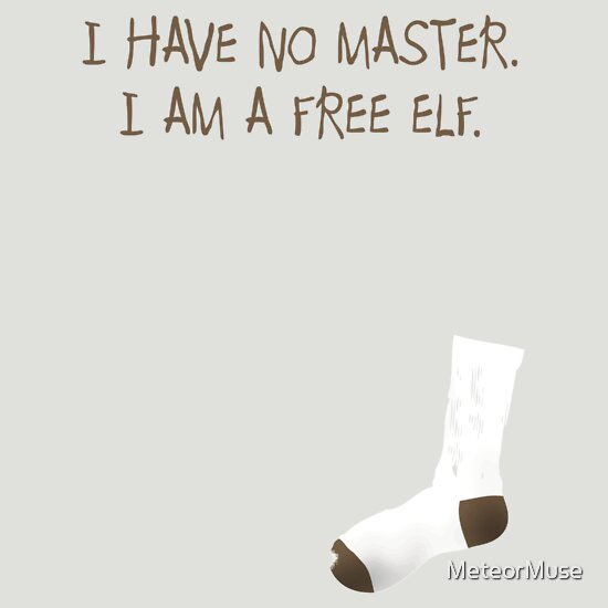 TShirtGifter presents: I am a free elf.