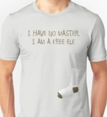 I am a free elf. Unisex T-Shirt