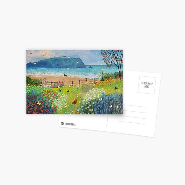 Garden Beside the Sea Postcard