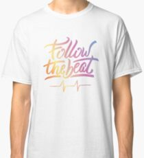 Follow the beat in colors Classic T-Shirt