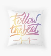 Follow the beat in colors Floor Pillow