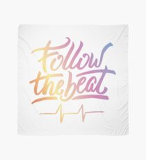 Follow the beat in colors Scarf