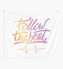 Follow the beat in colors Tapestry