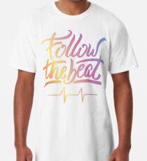 Follow the beat in colors Long T-Shirt