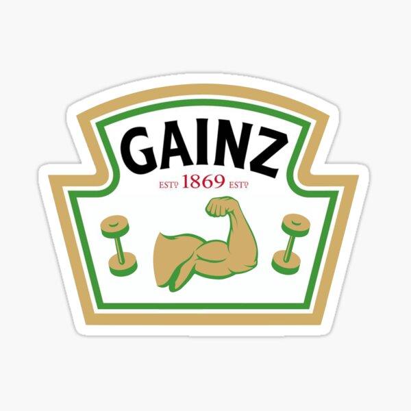 GAINZ V.2 Sticker