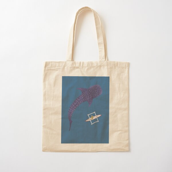 Pipisin and the butanding Cotton Tote Bag