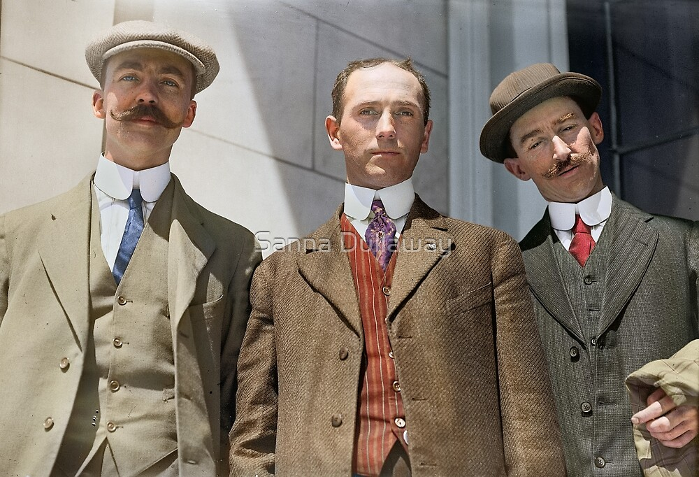 3 surviving crew members of RMS Titanic by Sanna Dullaway