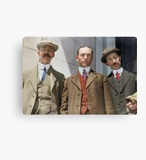 3 surviving crew members of RMS Titanic Canvas Print