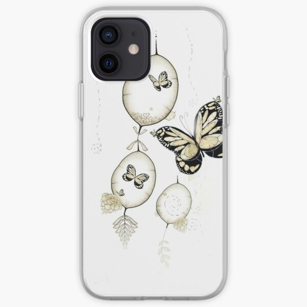 Papillon du Monde Graine - Papillon du monde des semences Coque souple iPhone