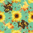 Flowers bees like by mycolour